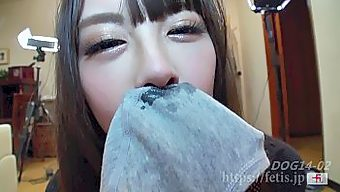 犬嗅娘9 ②鼻コキ、チン嗅ぎコンテスト、包茎も嗅いじゃう!! 編(フェ血ス)