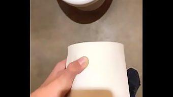 トイレットペーパーオナニー